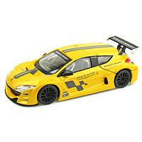 Авто-конструктор 1:24 Bburago RENAULT MEGANE TROPHY желтый металлик g18-25097