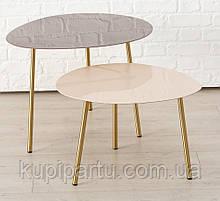 Журнальный столик Вилана металл розовый h47см w59см Гранд Презент 1017730-1Б