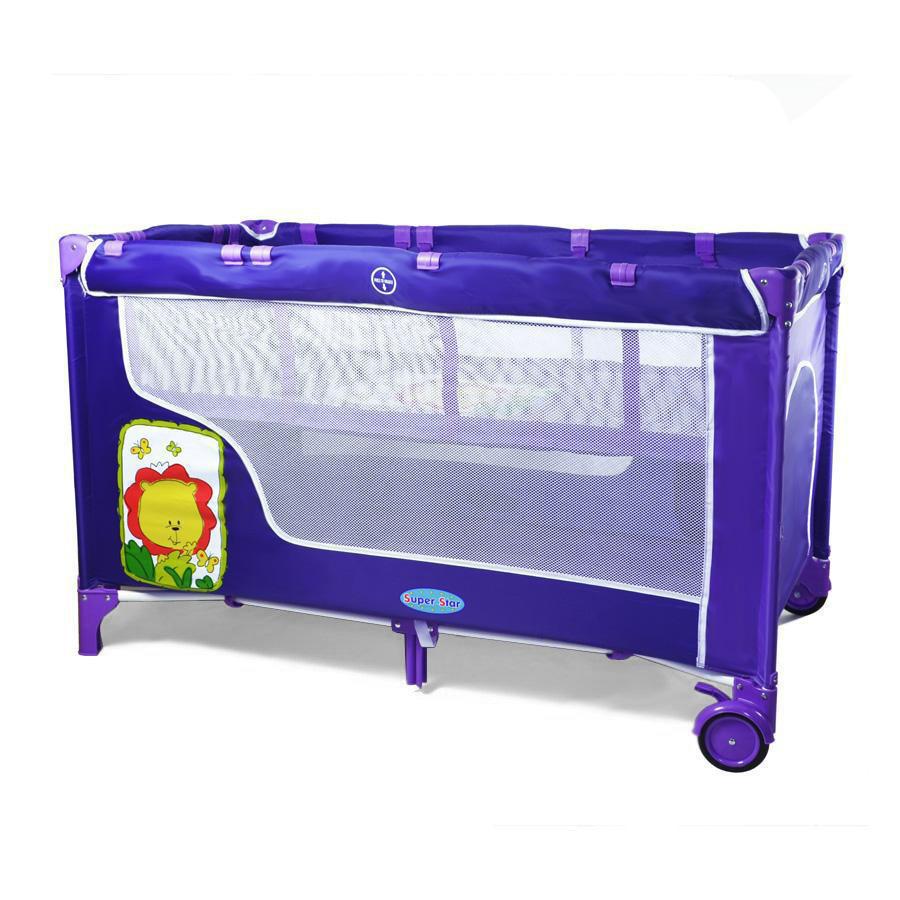 Детский манеж-кровать TILLY BT-016-SLC