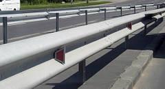 Дорожные ограждения барьерного типа и элементы к ним