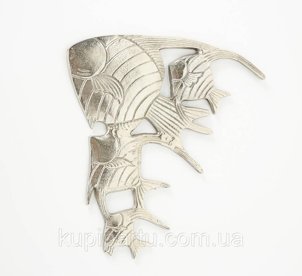 Настенный декор Рыбки W 30 см, L 2 см алюминий Гранд Презент 1019882