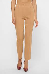 Женские песочные офисные брюки Бенжи 1