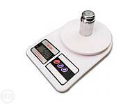 Электронные кухонные весы Спартак ACS SF 400 yf 7 кг, фото 1