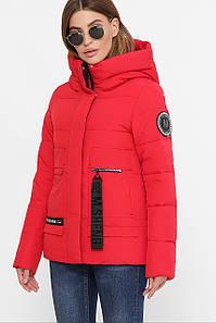 Куртка женская красный М-2081