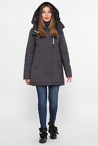 Куртка женская т.серый М-2082