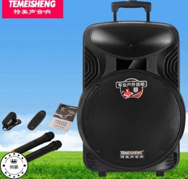 Колонка с блютуз и микрофонами Temeisheng A12-18a