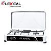 Газовая плита LEXICAL LGS-2812-1 на 2 конфорки  3.7KW