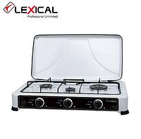 Газовая  плита LEXICAL LGS-2813-1  на 3 конфорки, White 4.7KW, фото 1