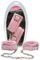 Наручники PINK PLUSH Ankle Cuffs