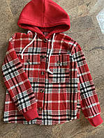 Подростковые бомберы-рубашки Худи трикотажные для мальчика, фото 1