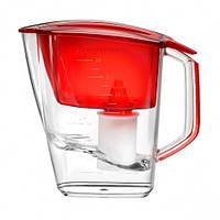 Фильтр-кувшин для очистки воды Барьер Гранд (синий / красный)