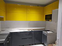 Угловая встроенная кухня 5