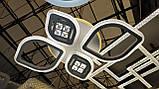 Світлодіодна люстра стельова акрил з пультом управління, фото 2