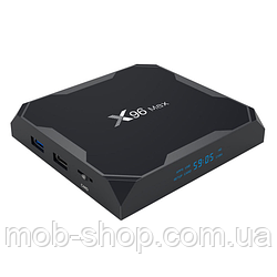 Смарт ТВ-приставка VONTAR X96 MAX 4/64Gb Smart TV (смарт ТБ приставка на андроїд) + 3 місяці Sweet TV у