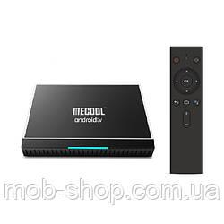 Смарт ТВ-приставка MECOOL KM9 PRO 4/32Gb Smart TV (смарт ТБ приставка на андроїд) + 3 місяці Sweet TV у