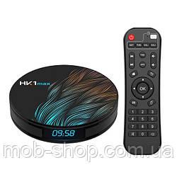 Смарт ТВ приставка VONTAR HK1 Max Smart TV 4/128Gb (смарт ТВ приставка на адроиде) + 3 месяца Sweet TV