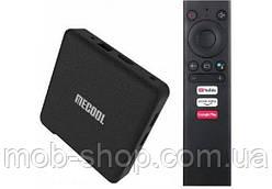 Смарт ТВ приставка MECOOL KM1 Smart TV 4/64Gb (смарт ТВ приставка на адроиде) + 3 месяца Sweet TV
