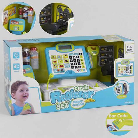 Кассовый аппарат 35559 А (6) свет, звук, встроенный калькулятор,  в коробке, фото 2