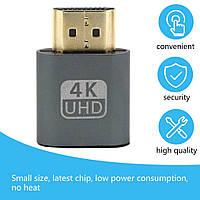 4K HDMI виртуальный дисплей пустышка эмулятор VGA  адаптер DDC Edid 2020 Новый