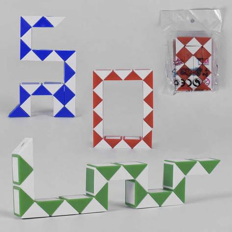 Логика-змейка 8001-2 (720/2) 3 цвета, в кульке, фото 2