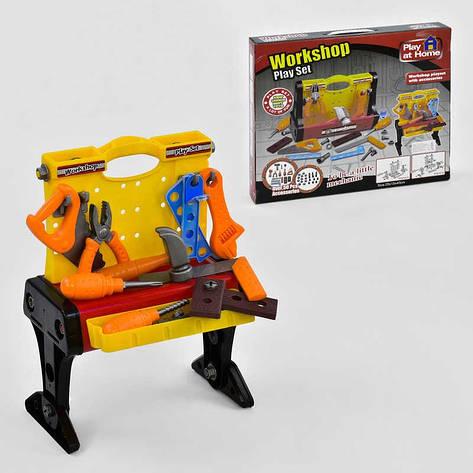 Набор инструментов 661-73 (18) стол-чемодан, в коробке, фото 2
