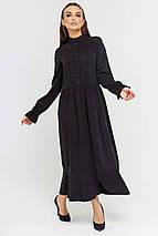 Платье-миди с принтом из натуральной ткани (Флорет ri), фото 2