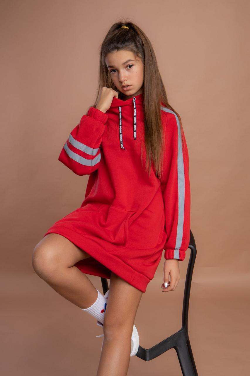 Підліткові сукні для дівчаток теплі з начосом