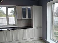 Встроенная угловая кухня + кухонный остров 5