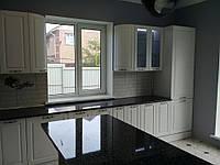 Встроенная угловая кухня + кухонный остров 9