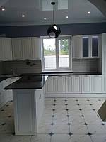 Встроенная угловая кухня + кухонный остров 10
