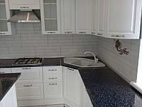 Встроенная угловая кухня + кухонный остров 12