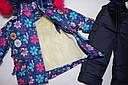Детский зимний комбинезон на девочку 1-2,2-3,3-4,4-5 лет, фото 2