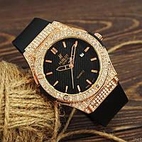 Женские часы Hublot Geneve Gold, жіночий золотий годинник Хублот