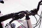 """Велосипед Спортивный S200 HAMMER 26 дюймов рама алюминий 17"""" бело-розовый, фото 4"""