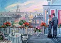 «Медовый месяц» картина маслом