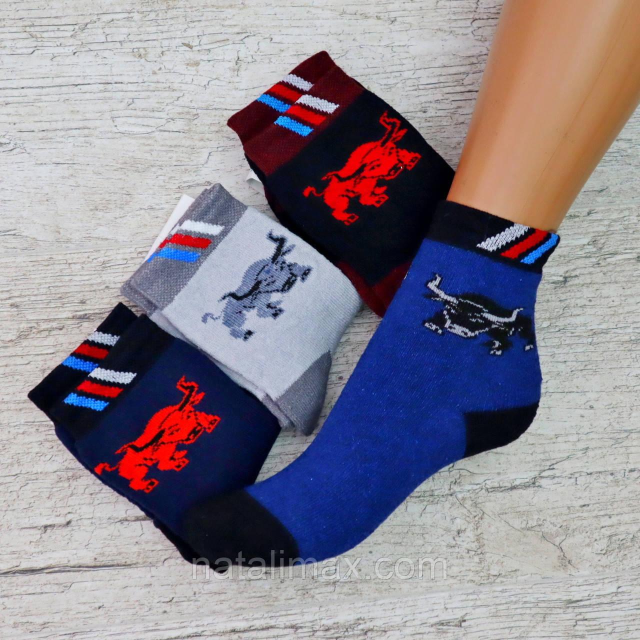 """Носки МАХРА  детские  5-6 лет(мальчик) """"Bravo Socks"""" Детские теплые зимние носки , утепленные носки"""