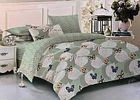 Комплект постельного белья ТЕП Miranda бязь 215-180 см зеленый