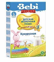 Молочная каша кукурузная Bebi Premium (Беби Премиум) с 5 месяцев , 200 г