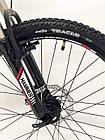 """Велосипед Спортивный S200 HAMMER колеса 24 дюйма рама алюминий 14"""" черно-красный, фото 6"""