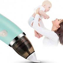 Аспіратор назальний електронний для малюків BY-3578, фото 3