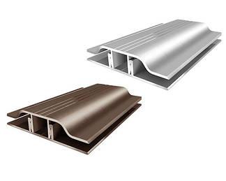 Алюминиевый профиль для монтажа и крепления поликарбоната
