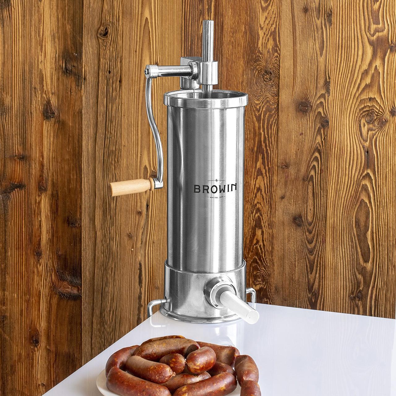 Шприц ковбасний вертикальний Browin на 5 кг (311006)