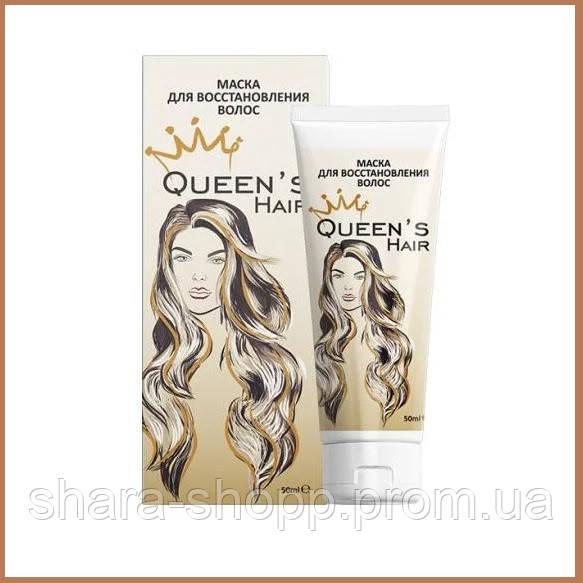 Маска для відновлення і росту волосся queen's hair - Квінс Хаїр 50 мл