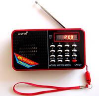 Портативная колонка/ динамик/ радио WS-958RC
