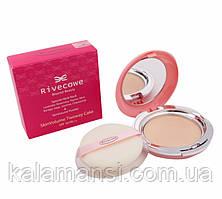 Компактная пудра двойного действия SPF 30 РА++ RIVECOWE Beyond Beauty Skin Volume Twoway Cake  12 г 21 Natural Beige