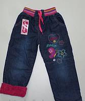 Теплые Джинсы 5,6 лет