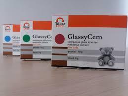 Glassy-Cem (Гласси-Цем),дитячий стеклоиномерный цемент, TehnoDent