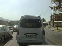 Спойлер  Hyundai H100 Minibus / Хендай Х100   (с подсветкой)
