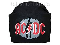 ACDC-1 - шапка-бини - вязанная с накаткой