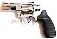 Револьвер флобера Trooper 3,0 S силумин никель.пласт.ручка под дерево